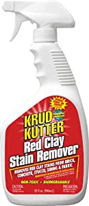 KRUD KUTTER RC32 Red Clay Stain Remover, 32-Ounce