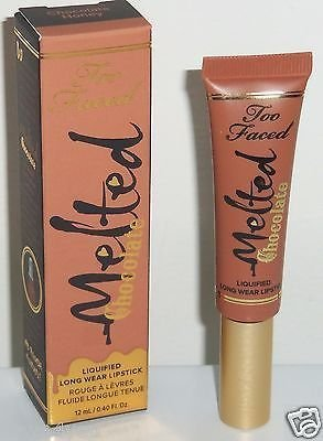 Too Faced Melted Chocolate Liquified Long Wear Lipstick - Chocolate Honey 0.16 Fl oz / 5 ml - travel size (Chocolate Lipstick compare prices)