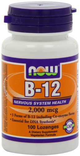 Now Foods Instant Energy B-12 2000mcg, 100-Count