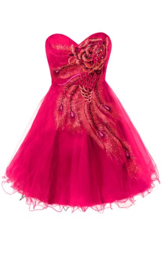 Metallic Peacock Embroidered Holiday Party Prom Dress Junior Plus