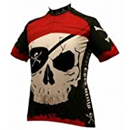 World Jersey's One Eyed Willy Pirate Cycling Jersey (One Eyed Willy - X-Large)