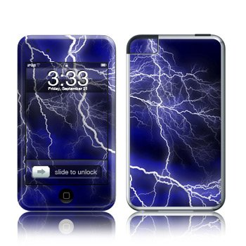 Apple iPod Touch 2G 3G Design Modding Skin Wallpaper - Apocalypse Blue