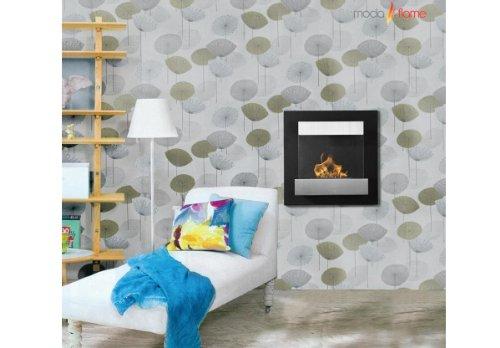 Moda Flame Madrid Wall Mounted Ethanol Fireplace