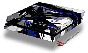 Abstract 02 Blue - Decal Style Skin fits original PS4 Gaming Console