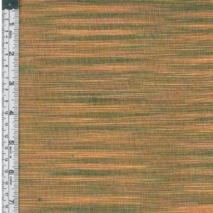 Textile Creations WR-001 Winding Ridge Fabric, Yellow And Green Ikat With Slub, 15 yd. three creations 200pcs 7x5cm