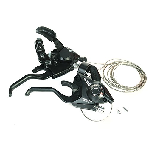 shimano-st-ef51-brake-shifter-levers-combo-set-3x8-pair-with-shift-cable-and-end-caps