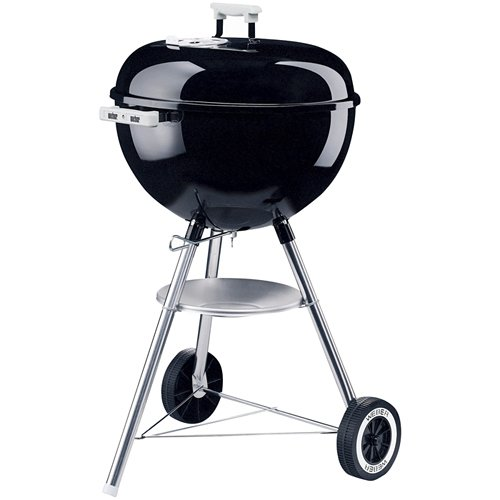 Weber Portable Grill One Touch 18 1/2 Silver Kettle 441001BLK