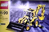 Lego # 8455 Technic Pneumatic Back-hoe loader 703 pieces - made in 2003