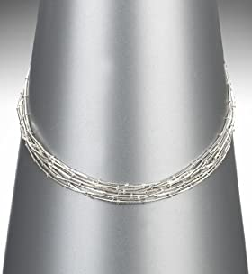 Silver Plated Knot Necklace