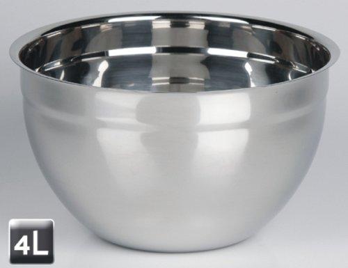 Très pratique et design balance de cuisine en inox avec 2 grands et 3 bols - 4Liter produit neuf vendu dans son emballage original.