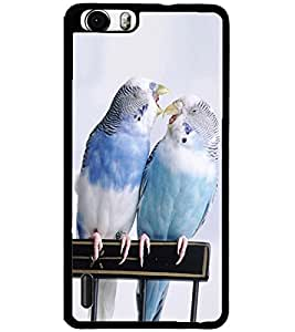 ColourCraft Love Birds Design Back Case Cover for HUAWEI HONOR 6