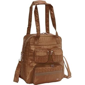 Lug Puddle Jumper Overnight/Gym Bag, Chocolate Brown