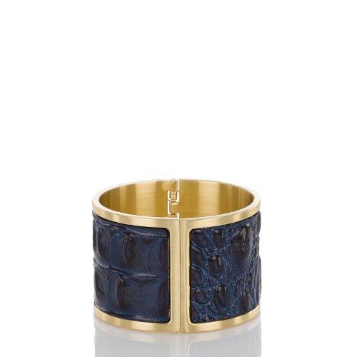 Large Cuff Bracelet<br>Navy Melbourne