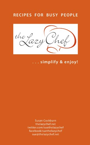 The Lazy Chef Cookbook