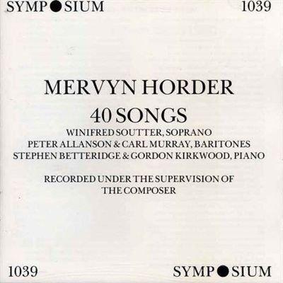 mervyn-horder-40-songs