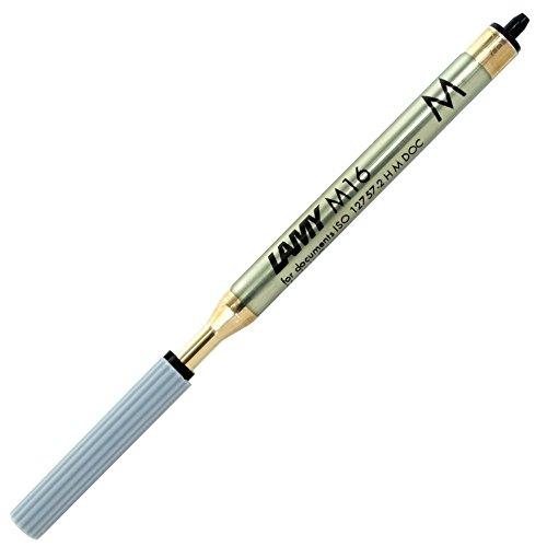 Lamy M16 Moyenne Noire mine à grande capacité pour stylo bille de Lamy