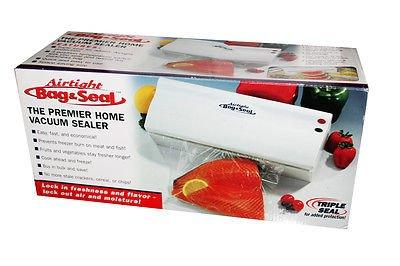 Airtight Bag & Seal Premier Home Vacuum Sealer (Dance Costume Designer Online)