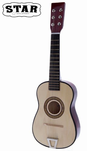 Star Mg50-Nt Kids Acoustic Toy Guitar 23-Inches, Natural Color front-287765