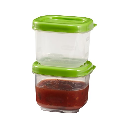 Rubbermaid  Lunch Blox - 2 pack sauce containers,3 oz Cup (Dressing Sauce Container compare prices)