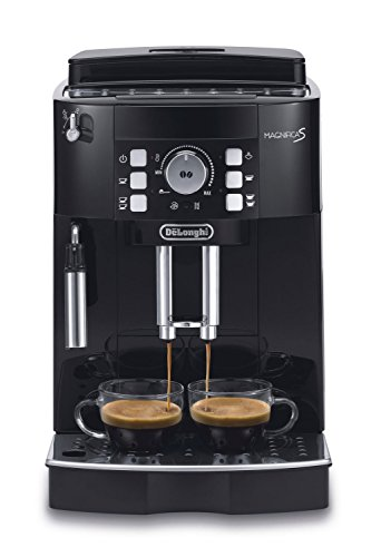 DeLonghi ECAM21117 MAGNIFICA S Automatic Espresso Coffee Machine with Cappuccino, Black (Delonghi Retro Toaster Oven compare prices)