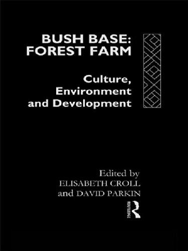 Bush Base, Wald auf dem Bauernhof: Kultur, Umwelt und Entwicklung (Europäische Interuniversitäres Entwicklung Chancen Study Group)