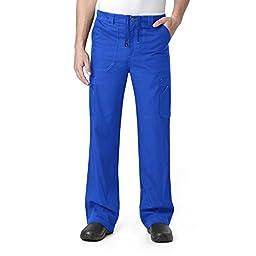 Carhartt Scrubs C54108 Men\'s Multi-Cargo Scrub Pant - X-Small Tall - Royal Blue
