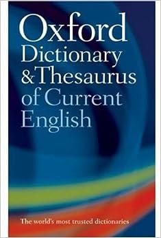 English of thesaurus oxford pdf
