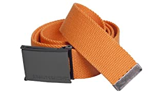Urban Classics Herren Gürtel orange verstellbar