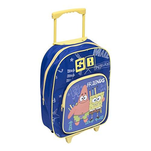 Arditex-098815-Trolley/cartella con rotelle, motivo: SpongeBob, 31,5 X 40 X 12 Cm