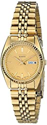 Seiko Women's SWZ058 Dress Gold-Tone Watch