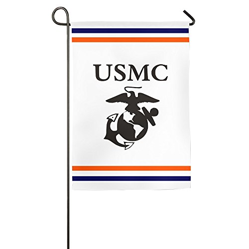 Tocige United States Marine Corps USMC Logo Home Flags House Flags Garden Flags 12*18inch / 18*27inch