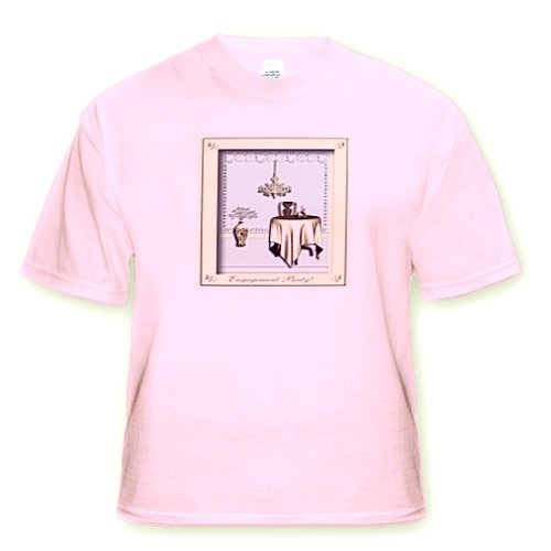 Engagement Party Room with Table and Chair Pale Yellow and Gold - Light Pink Infant Lap-Shoulder Tee (12M)