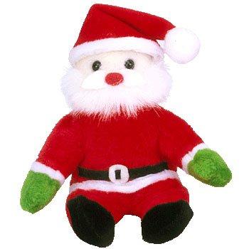 TY Jingle Beanie Baby - SANTA the Jolly Elf