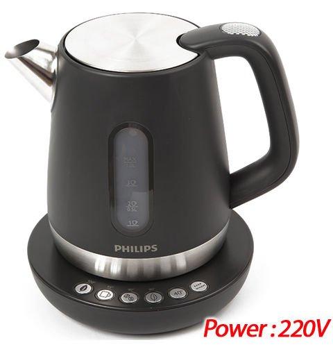 Philips Avance Tea Kettle Hd9380/20 2400w 1.0l Pre-set Temperature_220v (Philips Kettle Temperature compare prices)