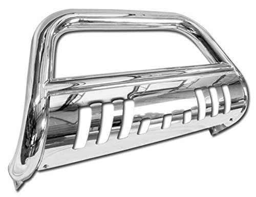 Stainless Steel Front Bumper Bull Bar Guard (Chrome) For 1999-2007 Ford F250 / F350 / F450 / F550 Superduty Models ( Will Not Fit Harley Davidson Edition Models ); 2000-2005 Ford Excursion All Models (2004 Ford F350 Bull Bar compare prices)