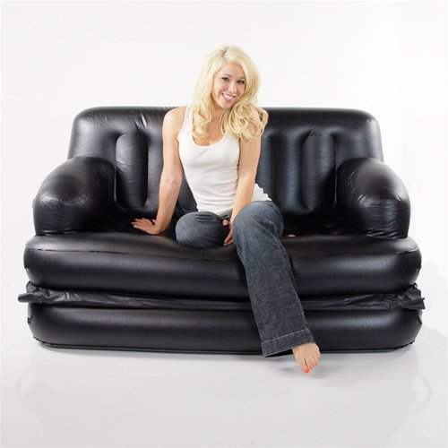 smart air beds 5 x 1 ez super full size inflatable sofa