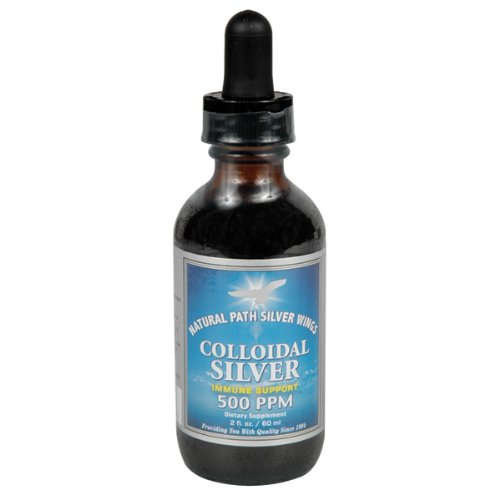 Colloidal Silver 500ppm - 2 oz - Liquid