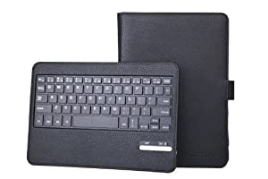 Bear Motion ® Premium Folio Case with Detachable Bluetooth Keyboard for Kindle Fire HD Tablet - Black from Bear Motion