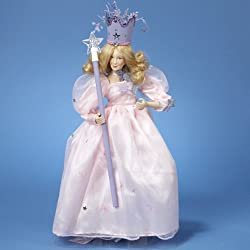 "15"" Wizard of Oz Glinda the Good Witch Lighted Christmas Tree Topper"