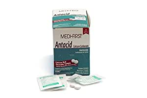 Medique Products 80233 Medi-First Antacid, 100 Tablets, 50 X 2