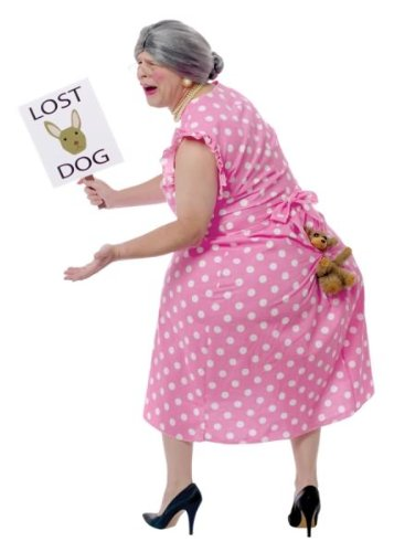 Womens Lost Puppy Humorous Costume