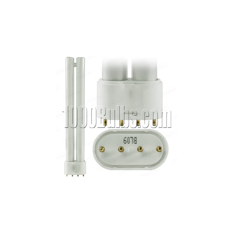 Sylvania Dulux 18 Watt Long Compact Fluorescent Bulb With 4 Pin Base