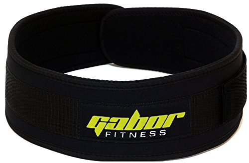 "Gabor Fitness 4-Inch Epic Performance Low Profile Weightlifting Belt ... (Small -- 22""-29"")"