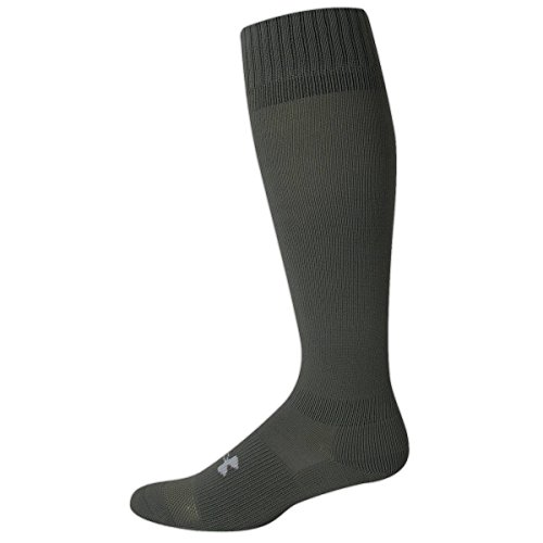 Men's HeatGear® Boot Sock Socks by Under Armour (Large/Black)