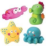 Alex Toys : Rub a Dub Bath Toy : Ocean Bath Squirters