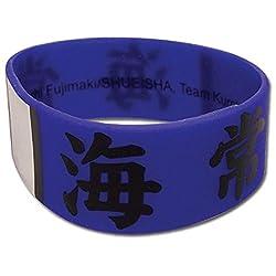 Wristband - Kurokos Basketball - New Team Kaijo Anime Licensed ge54044