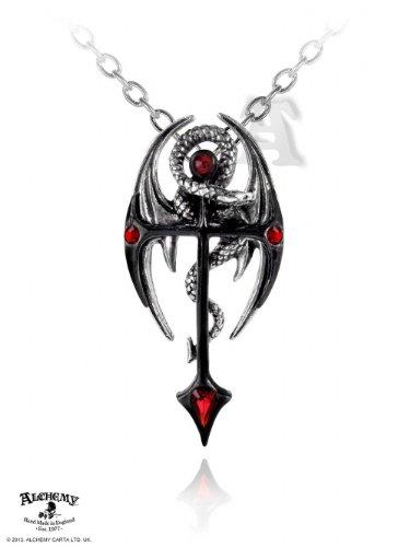 Alchemy Gothic Draconkreuz Per