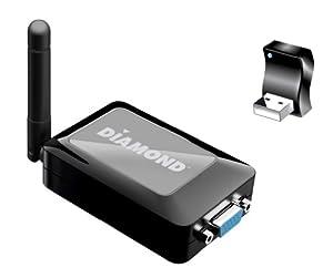 Diamond Multimedia WPCTVPRO 1080p VStream Wireless USB PC to TV Adapter for MAC OS, Win8.1, Win8, Win7, Win VISTA, and WinXP