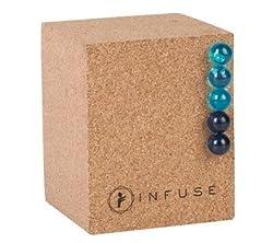 INFUSE Cork Cube Pushpin Holder