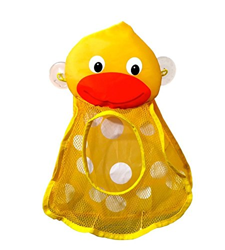 Momma Duck Bath Toy Organizer Toy Storage Bath Toys For Baby Tub Toys For  Infant Girls And ...
